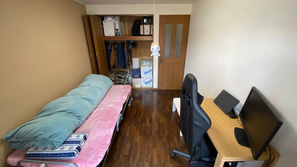 清掃後の部屋