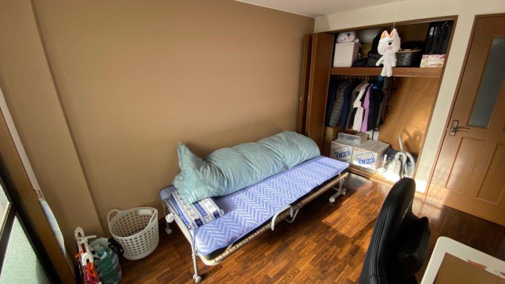 断捨離掃除後の部屋