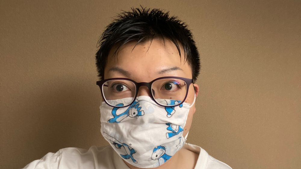 普段のマスク着用