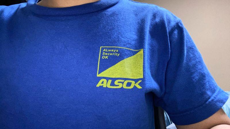 ALSOK Tシャツ