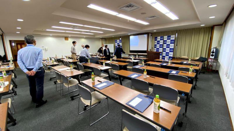 埼玉オータムフォーラム2020会場設営の様子