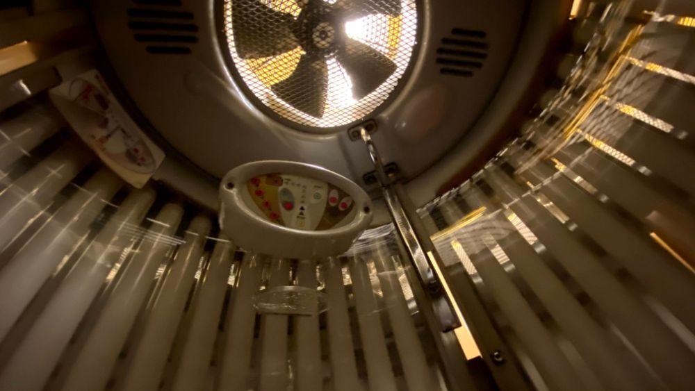 タンニングマシン内部