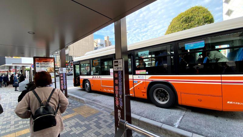 草加駅から川口駅のバス
