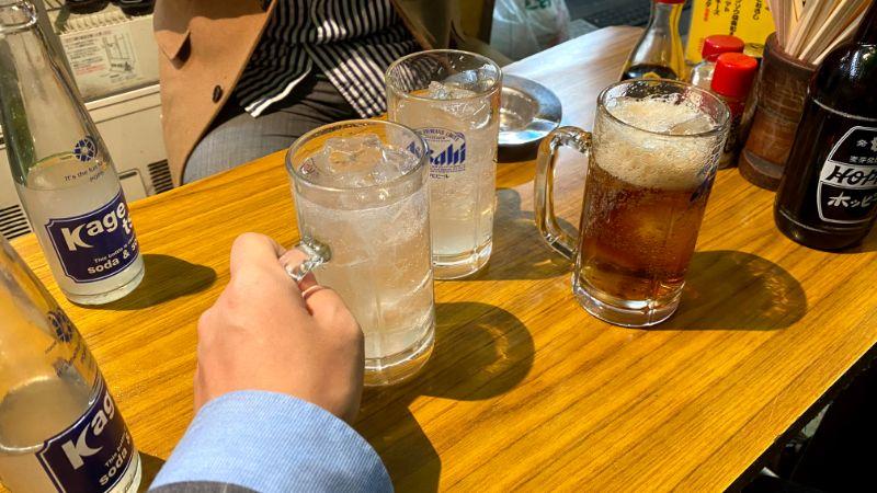 上野で飲み