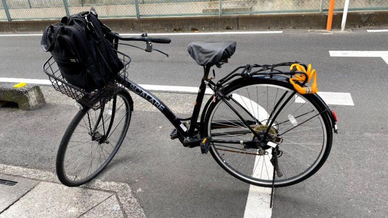 自転車Haku号